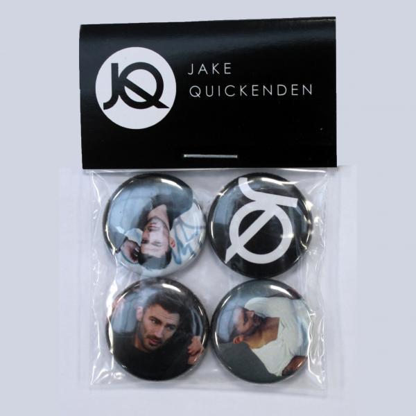 Buy Online Jake Quickenden - 4 Badge Set