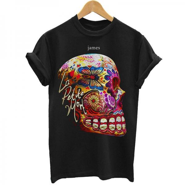Buy Online James - La Petite Mort Black T-Shirt