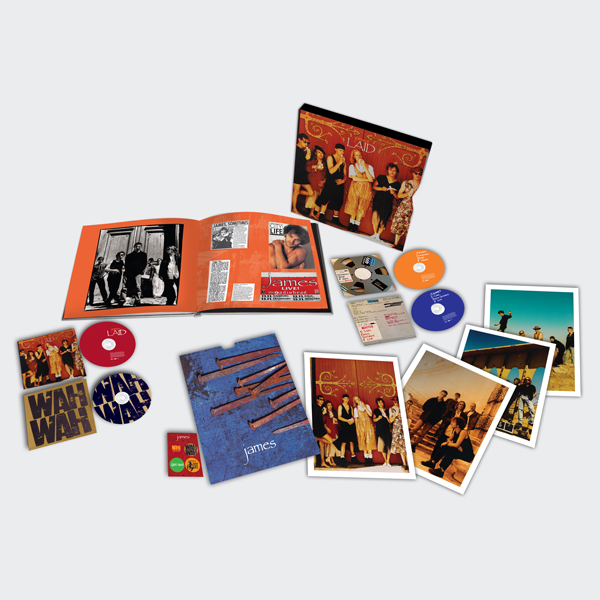 Buy Online James - Laid Wah Wah (4CD Super Deluxe Set)