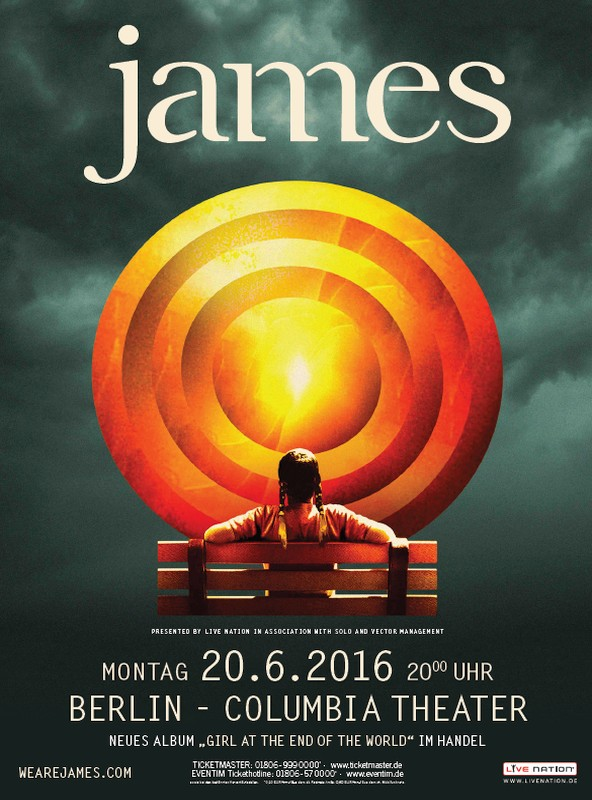 Buy Online James - Berlin James VIP Soundcheck UPGRADE
