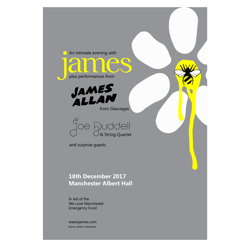 Buy Online James - Albert Hall Litho Print