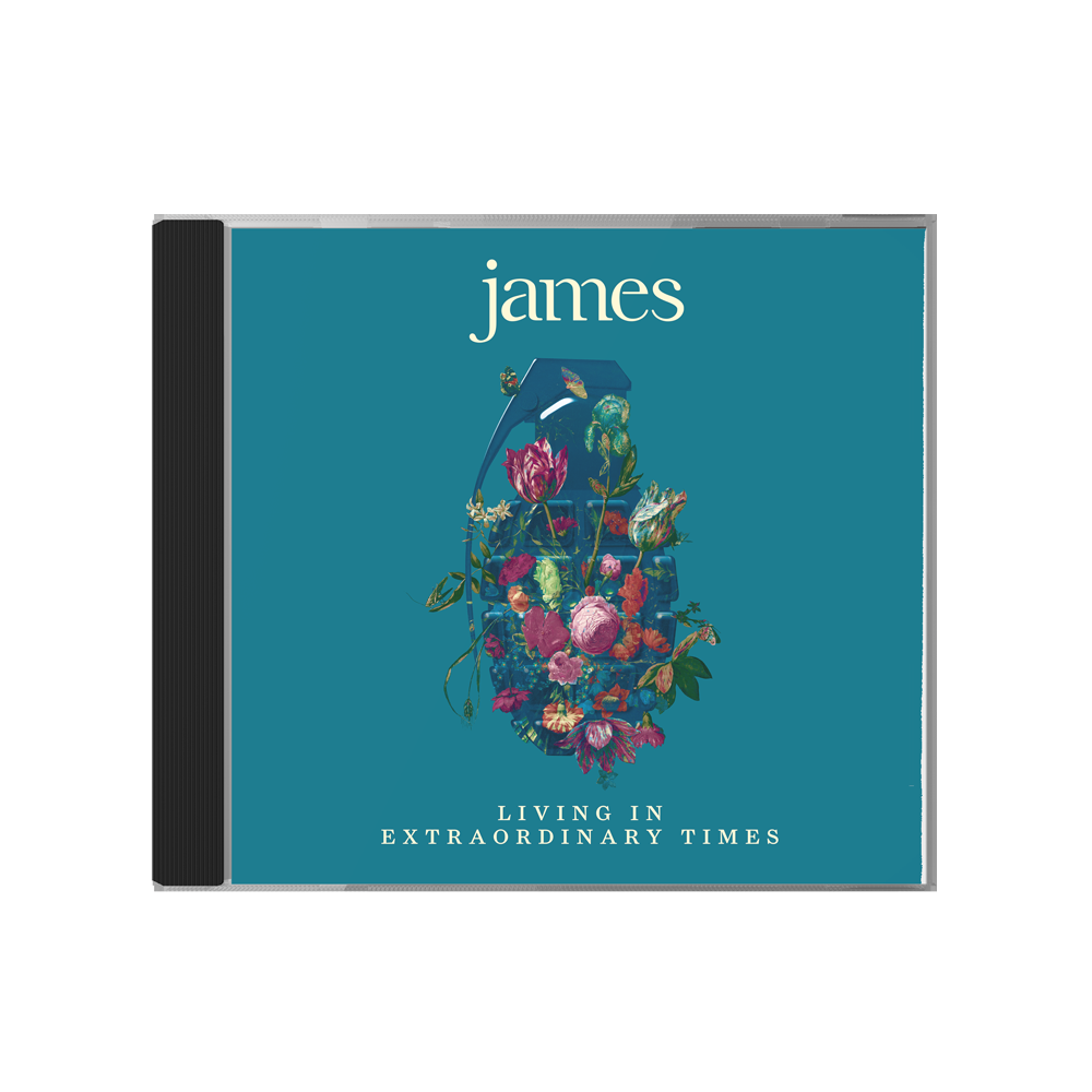 Buy Online James - Living In Extraordinary Times
