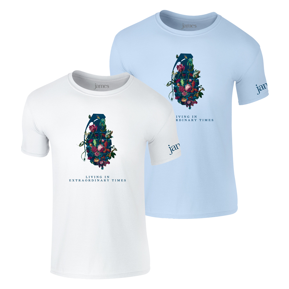 Buy Online James - Living In Extraordinary Times T-Shirt