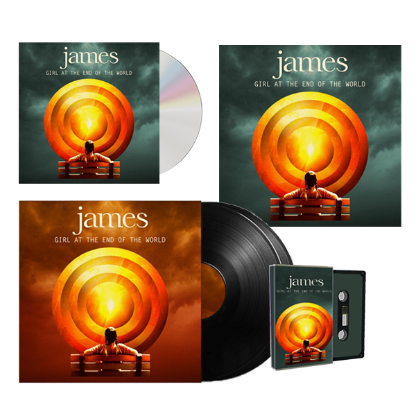 Buy Online James - Girl At The End Of The World Album Bundle