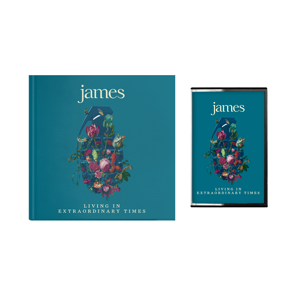 Buy Online James - Living In Extraordinary Times Deluxe CD + Cassette