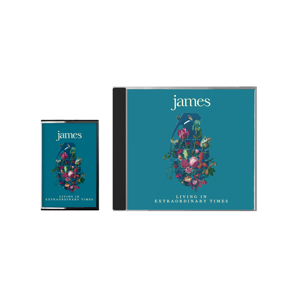 Buy Online James - Living In Extraordinary Times Standard CD + Cassette
