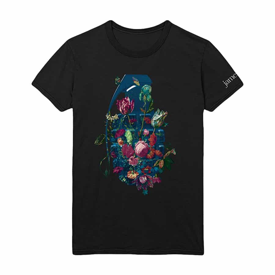 Buy Online James - Grenade / Itinerary T-Shirt
