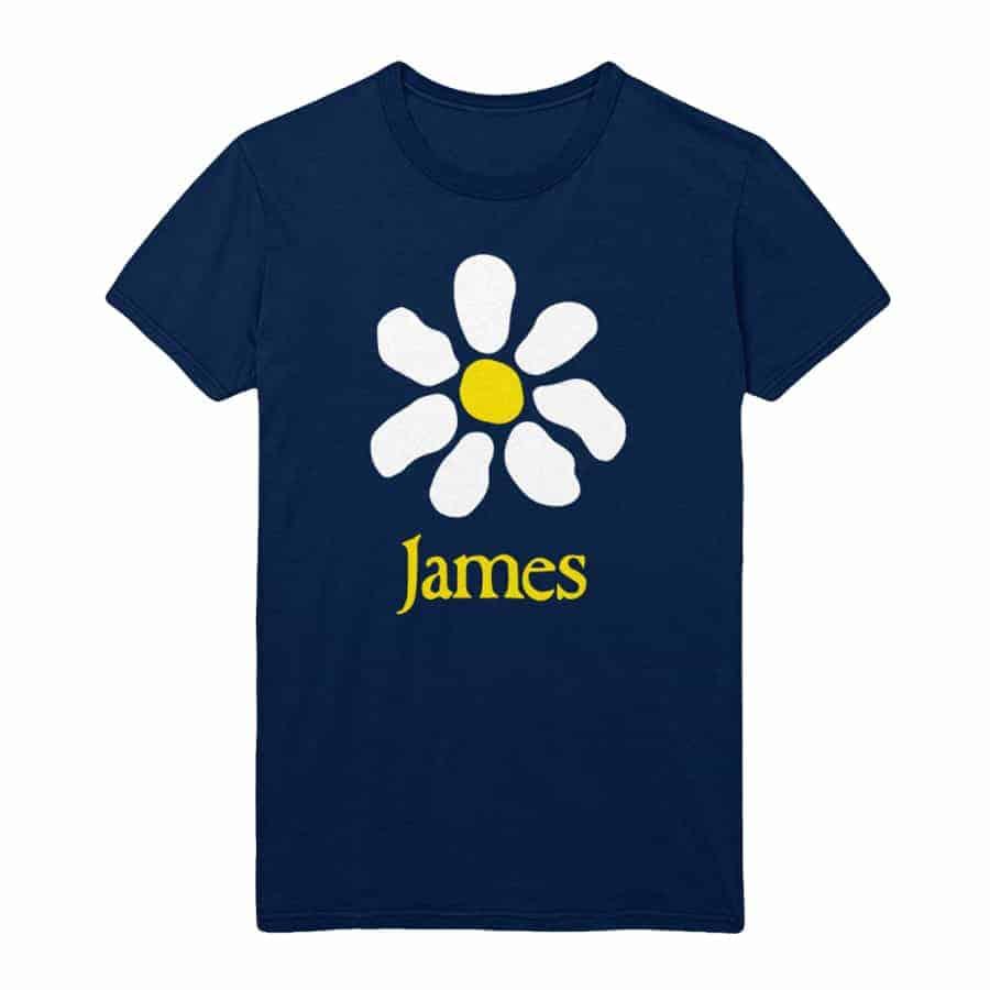 Buy Online James - Daisy Navy T-Shirt
