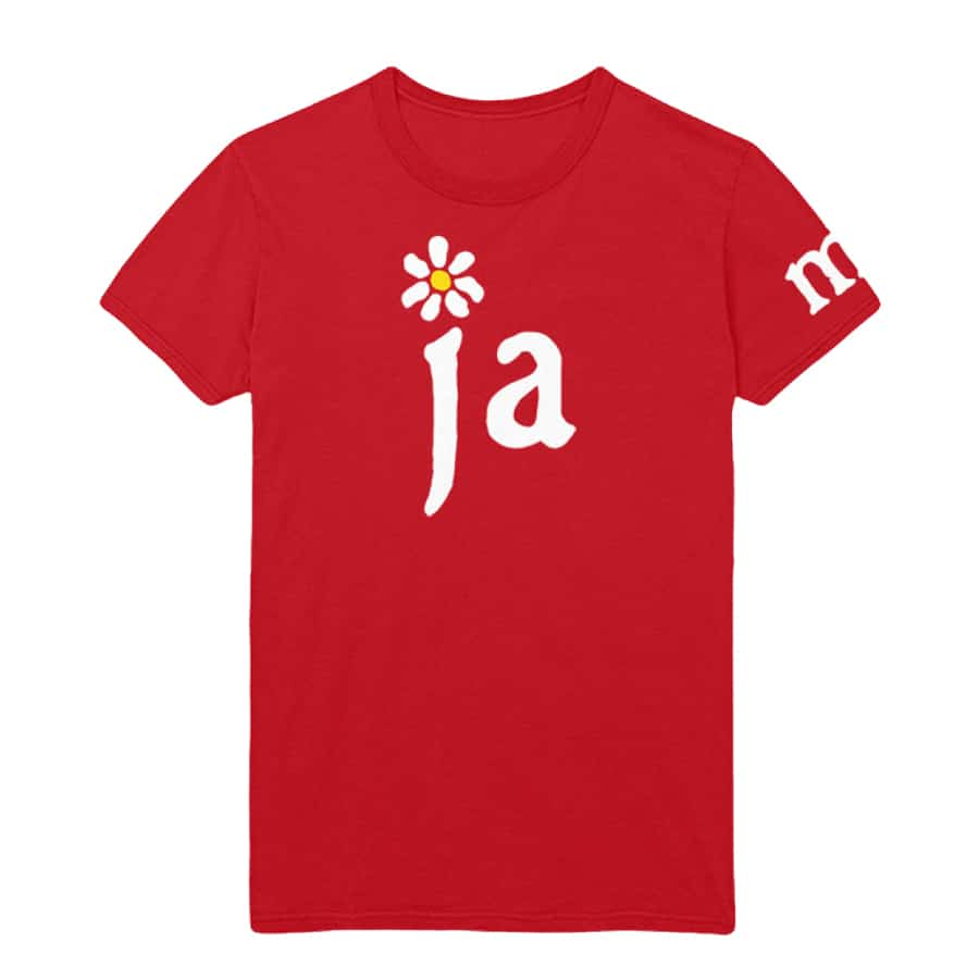 Buy Online James - Ja-m-es Red T-Shirt