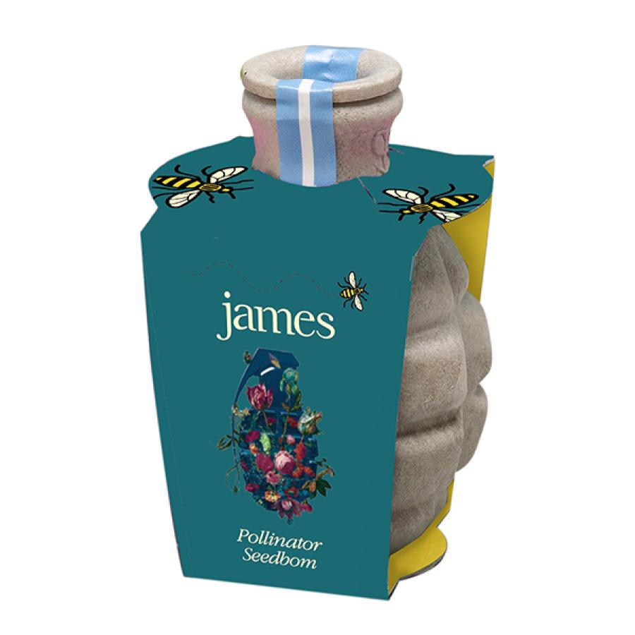 Buy Online James - Pollinator Seedbom