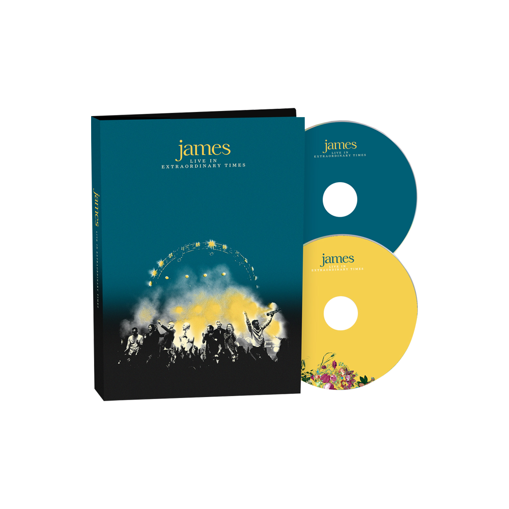Buy Online James - LIVE In Extraordinary Times Deluxe