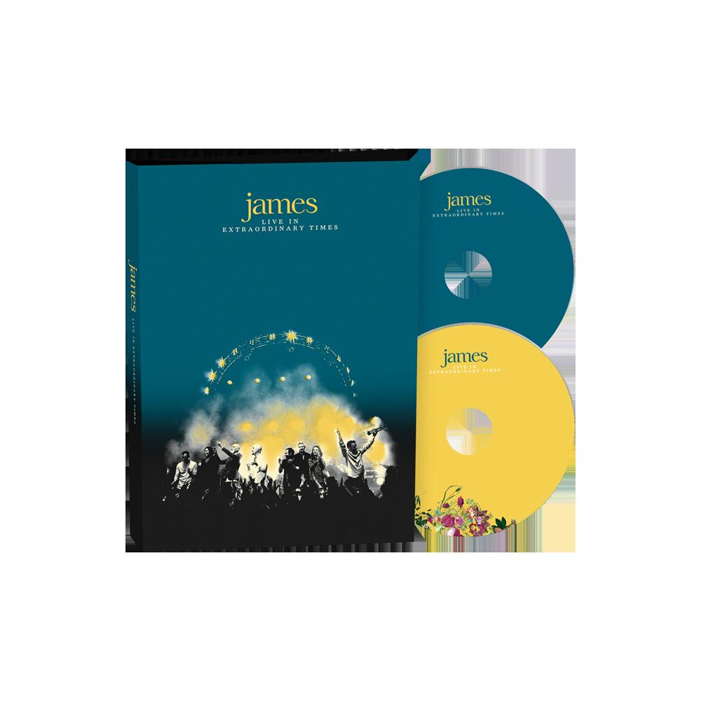 Buy Online James - LIVE In Extraordinary Times Deluxe 2CD Album