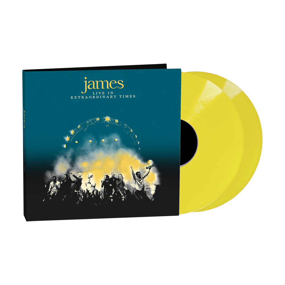 Buy Online James - LIVE In Extraordinary Times Yellow