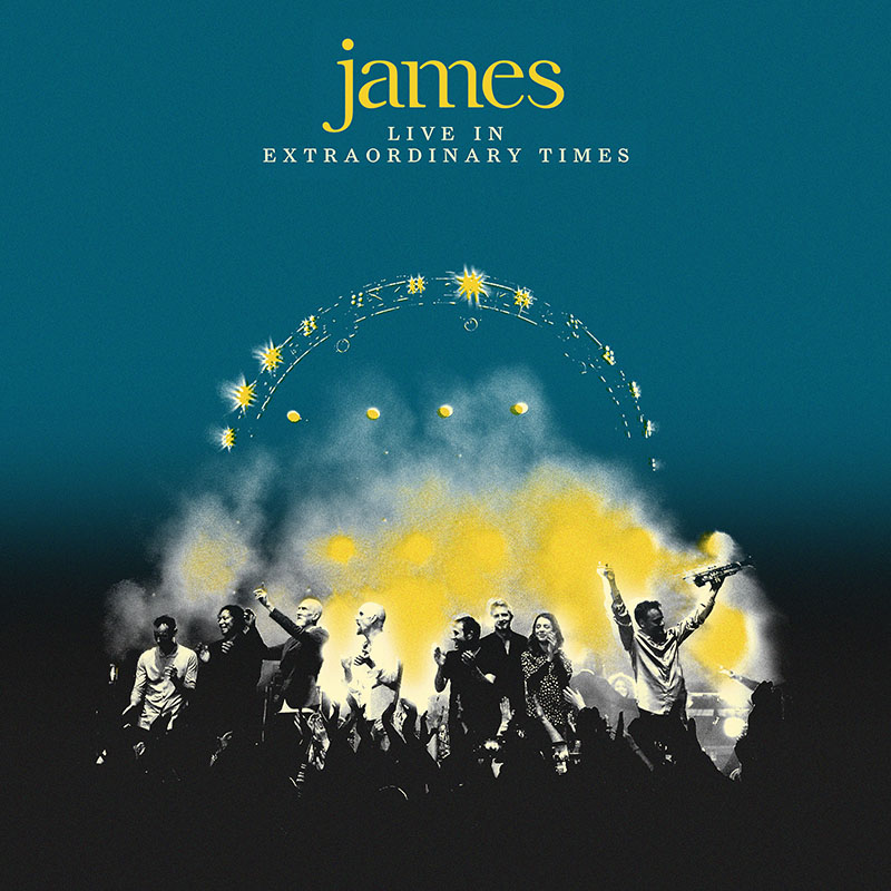 Buy Online James - LIVE In Extraordinary Times Deluxe Digital Audio & DVD Album
