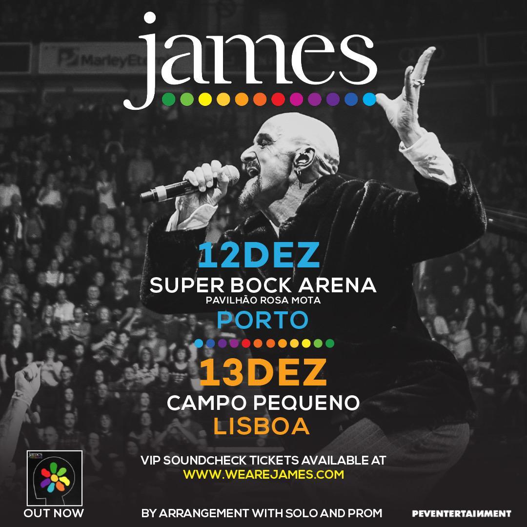Buy Online James - James VIP Soundcheck Session Upgrade - Portugal 2021