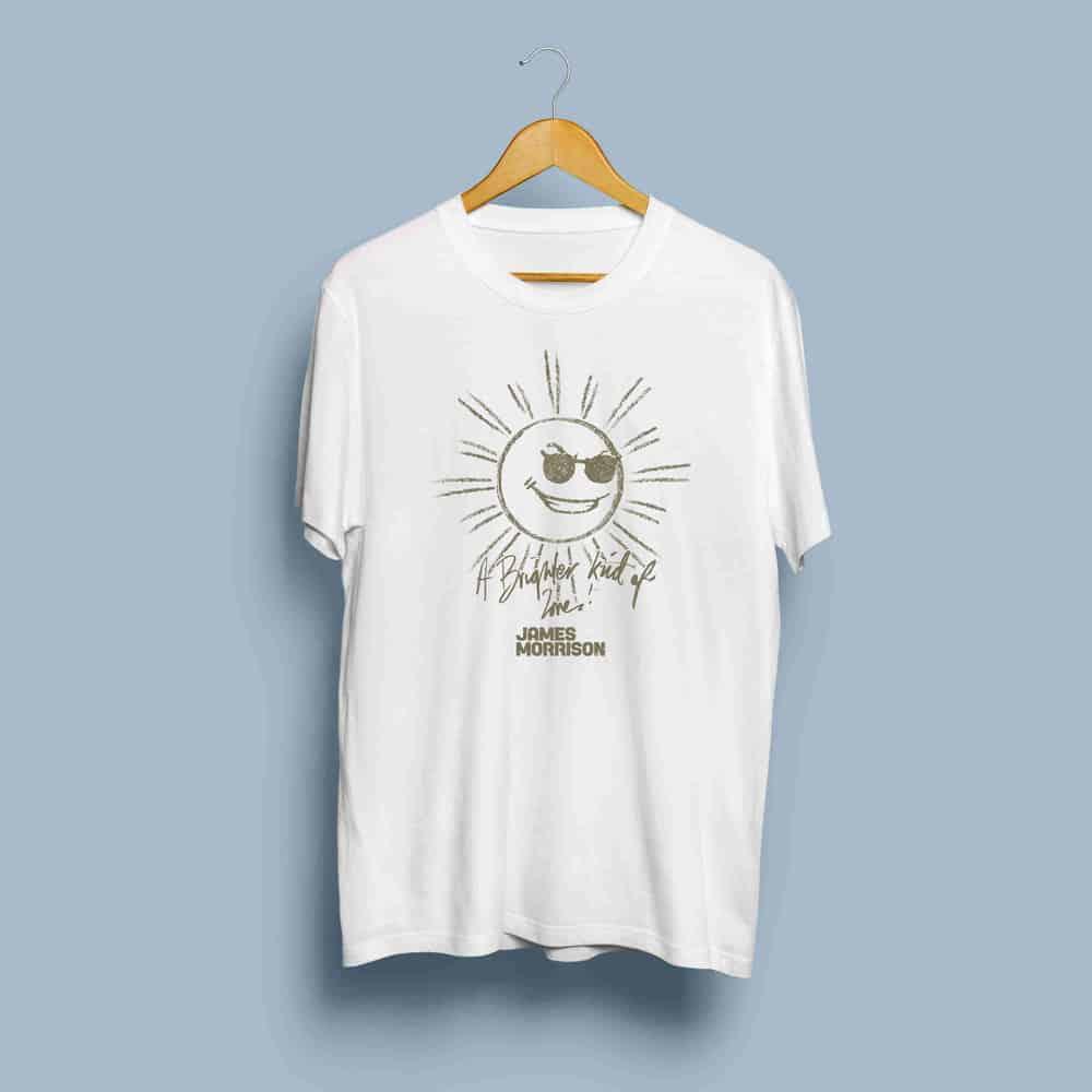 Buy Online James Morrison - Bronze Sun T-Shirt