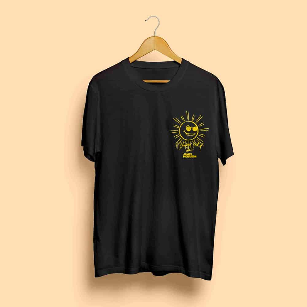Buy Online James Morrison - Sun Tour T-Shirt
