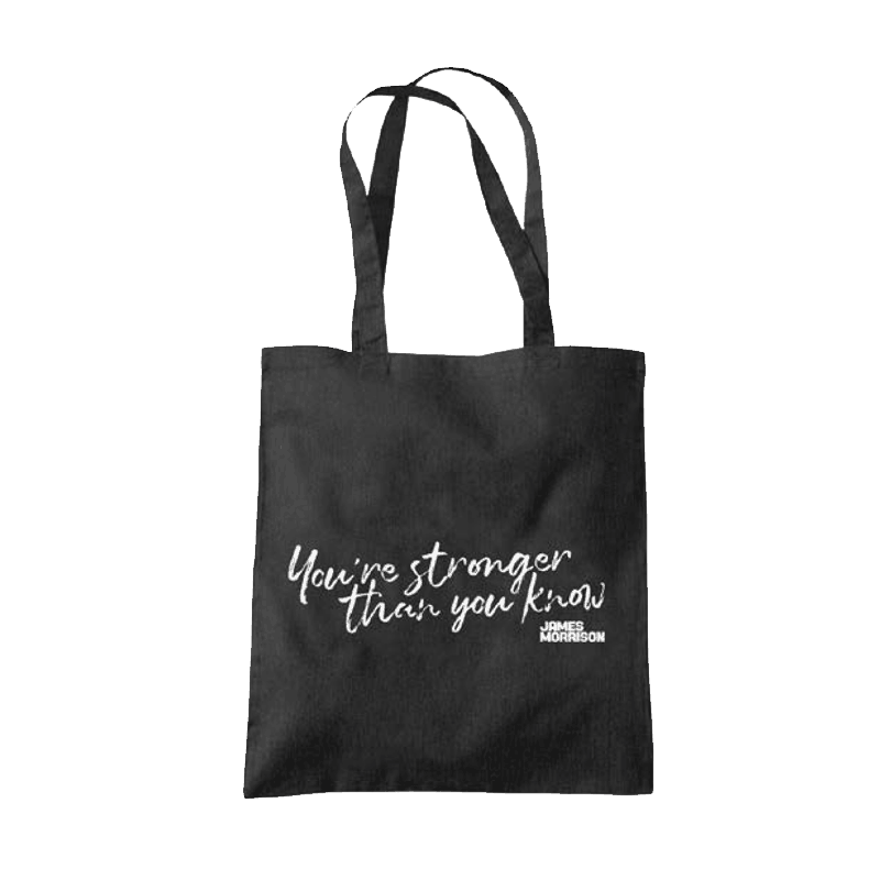 Buy Online James Morrison - You're Stronger Than You Know Tote Bag