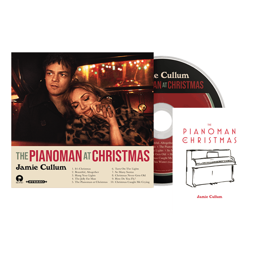 Buy Online Jamie Cullum - Pianoman At Christmas. (Inc Signed Piano Card)