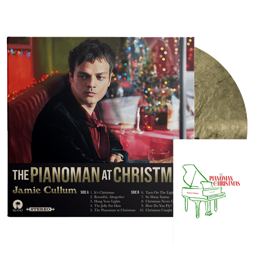 Buy Online Jamie Cullum - Pianoman At Christmas Black & Gold (Inc Signed Grand Piano Card)