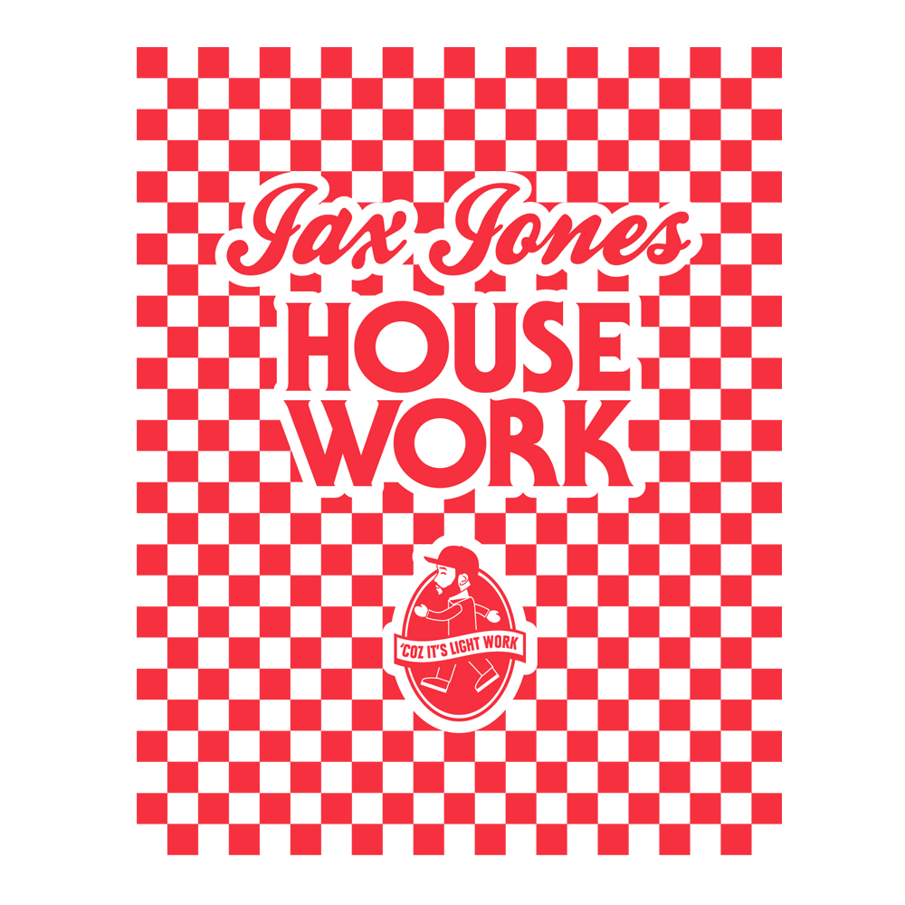 Buy Online Jax Jones - House Work Tea Towel