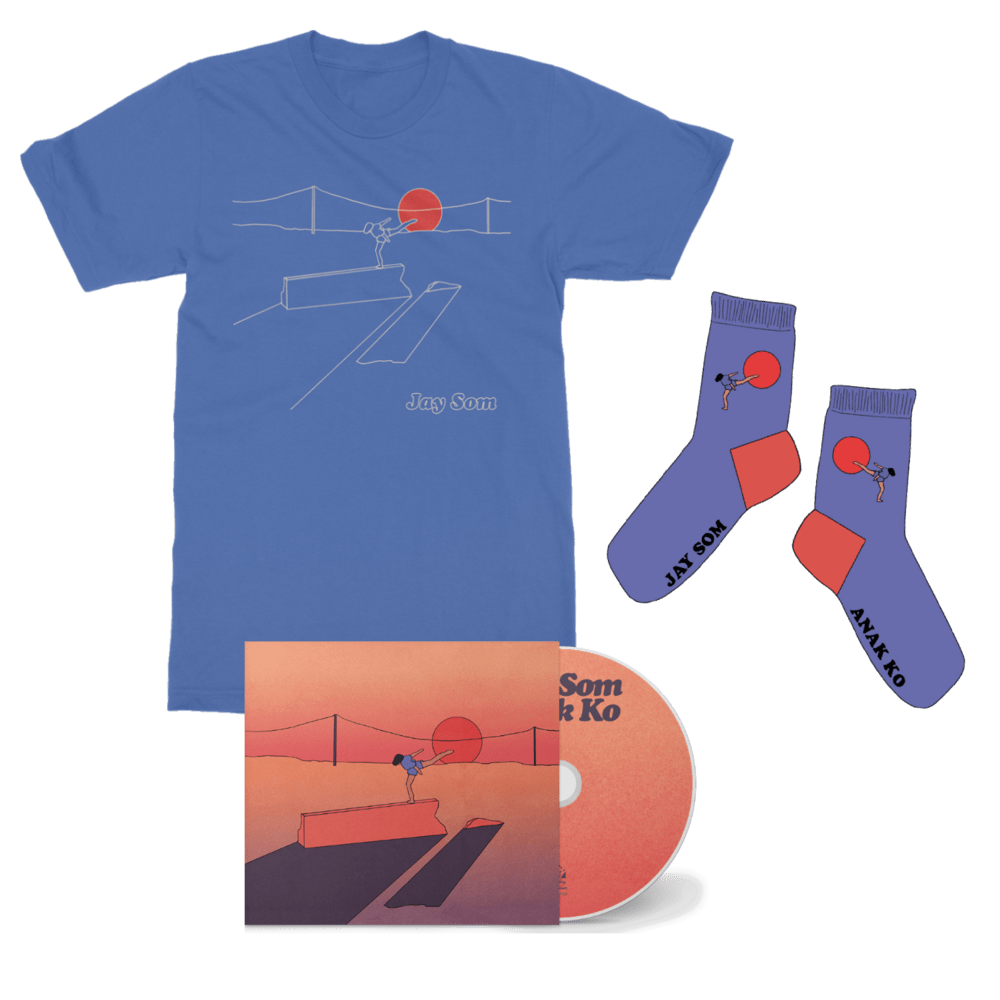 Buy Online Jay Som - Anak Ko CD + T-Shirt + Socks