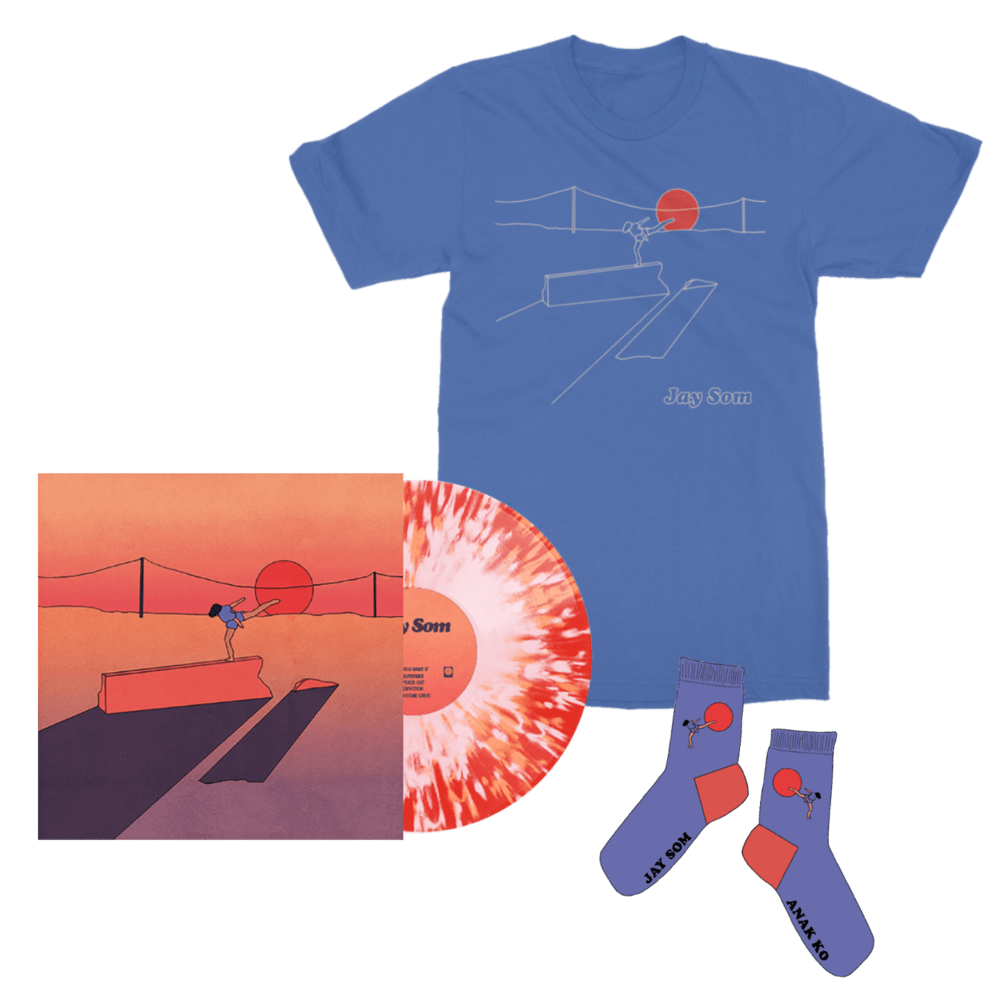 Buy Online Jay Som - Anak Ko Splattered Vinyl + T-Shirt + Socks (Includes Signed Fanzine)