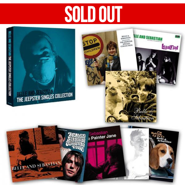 Belle and Sebastian - The Jeepster Singles Collection (Limited Edition Numbered Vinyl Box Set)