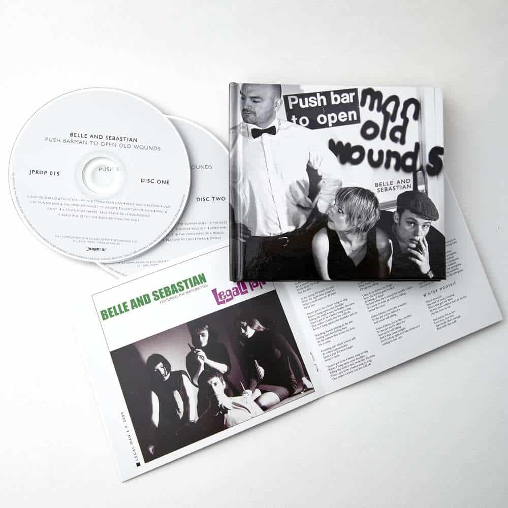 Buy Online Belle and Sebastian - Push Barman To Open Old Wounds Deluxe CD Album