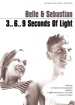Buy Online Belle and Sebastian - '3..6..9 Seconds Of Light' 70 x 50cm Poster