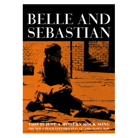 Buy Online Belle and Sebastian - 'This Is Just A Modern Rock Song' 70 x 50cm Poster
