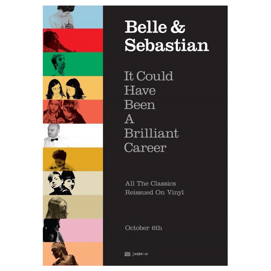 Belle and Sebastian - It Could Have Been A Brilliant Career 42 x 30cm Poster