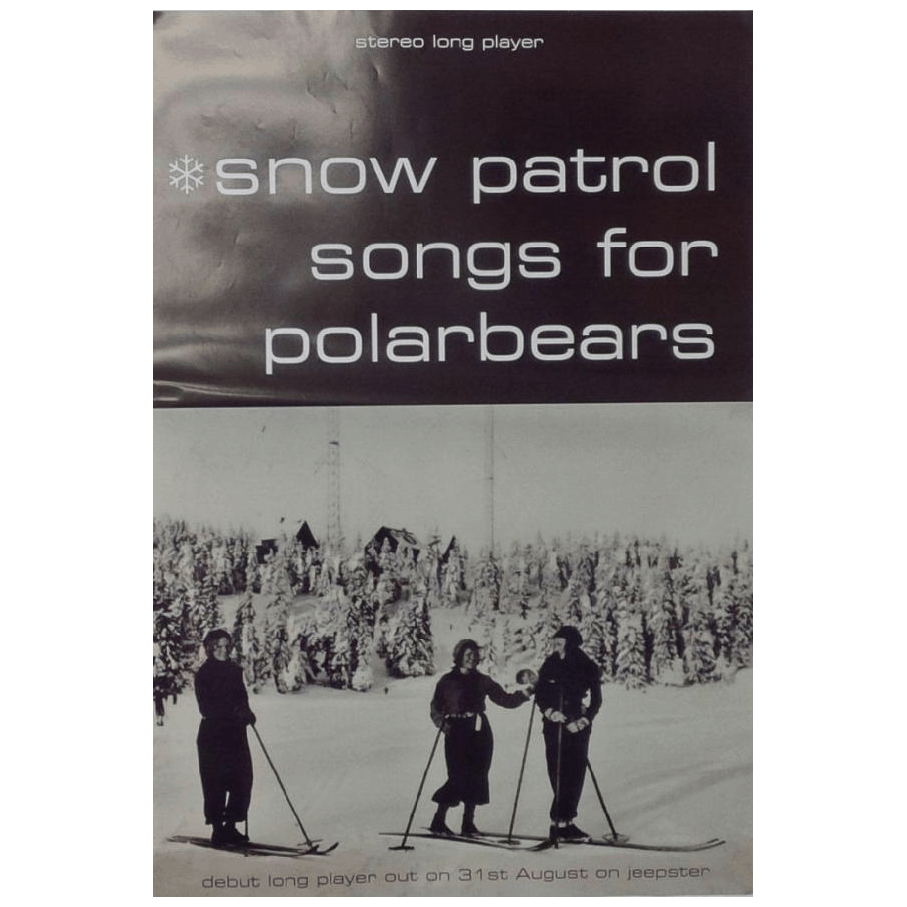 Snow Patrol - Songs For Polarbears 70 x 50cm Poster