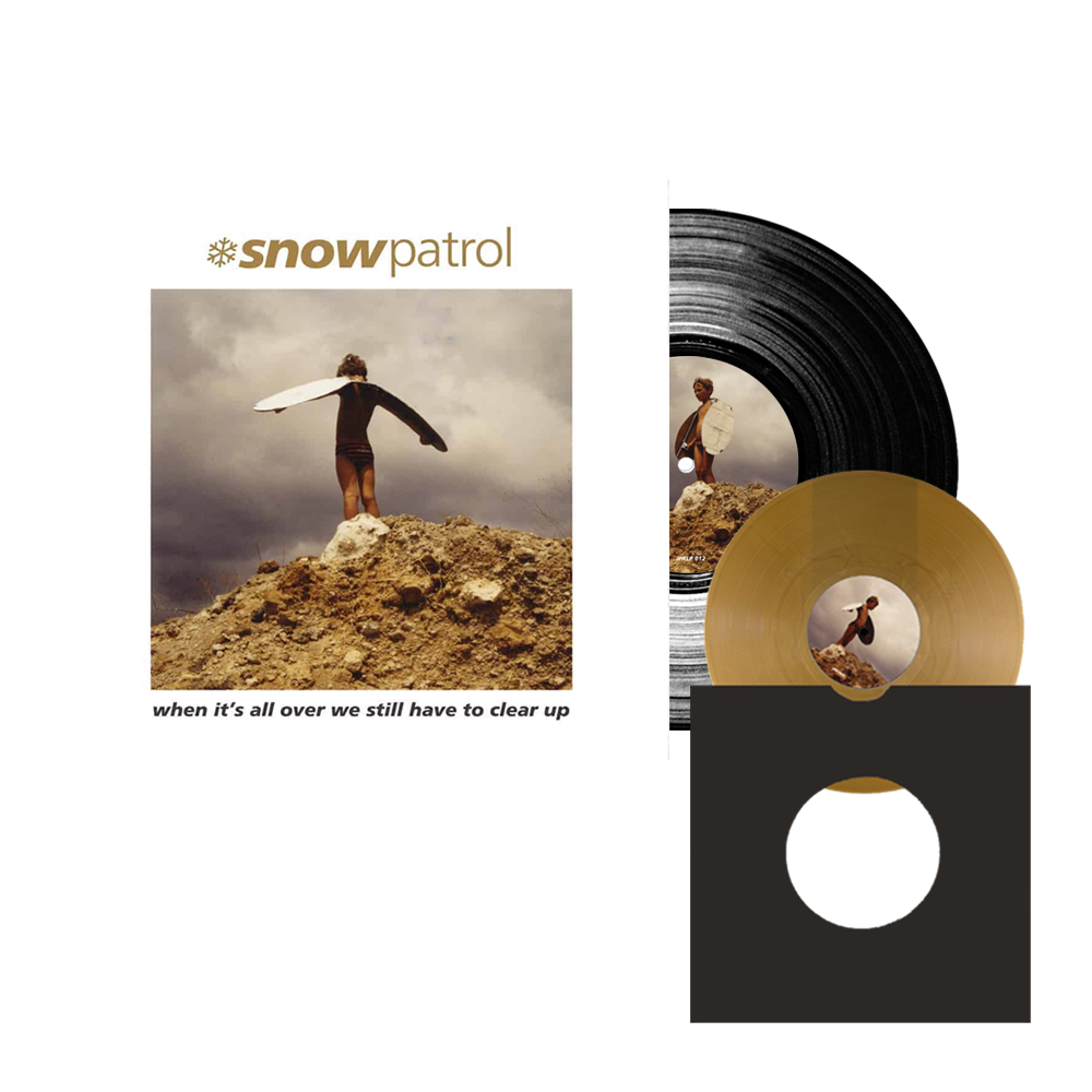 Buy Online Snow Patrol - When It's All Over We Still Have To Clear Up + Bonus Gold 7-Inch