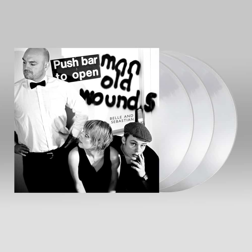 Push Barman To Open Old Wounds Limited Edition Clear Vinyl