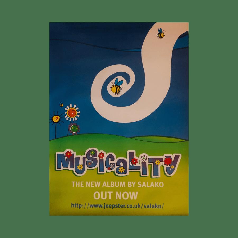 Buy Online Salako - Musicality 70 x 50cm Poster