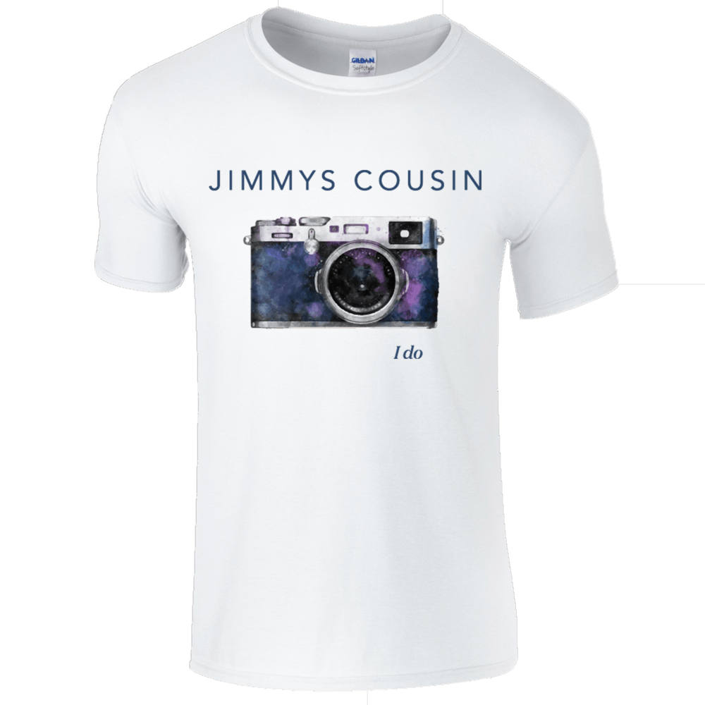 Buy Online Jimmys Cousin - White I Do T-Shirt