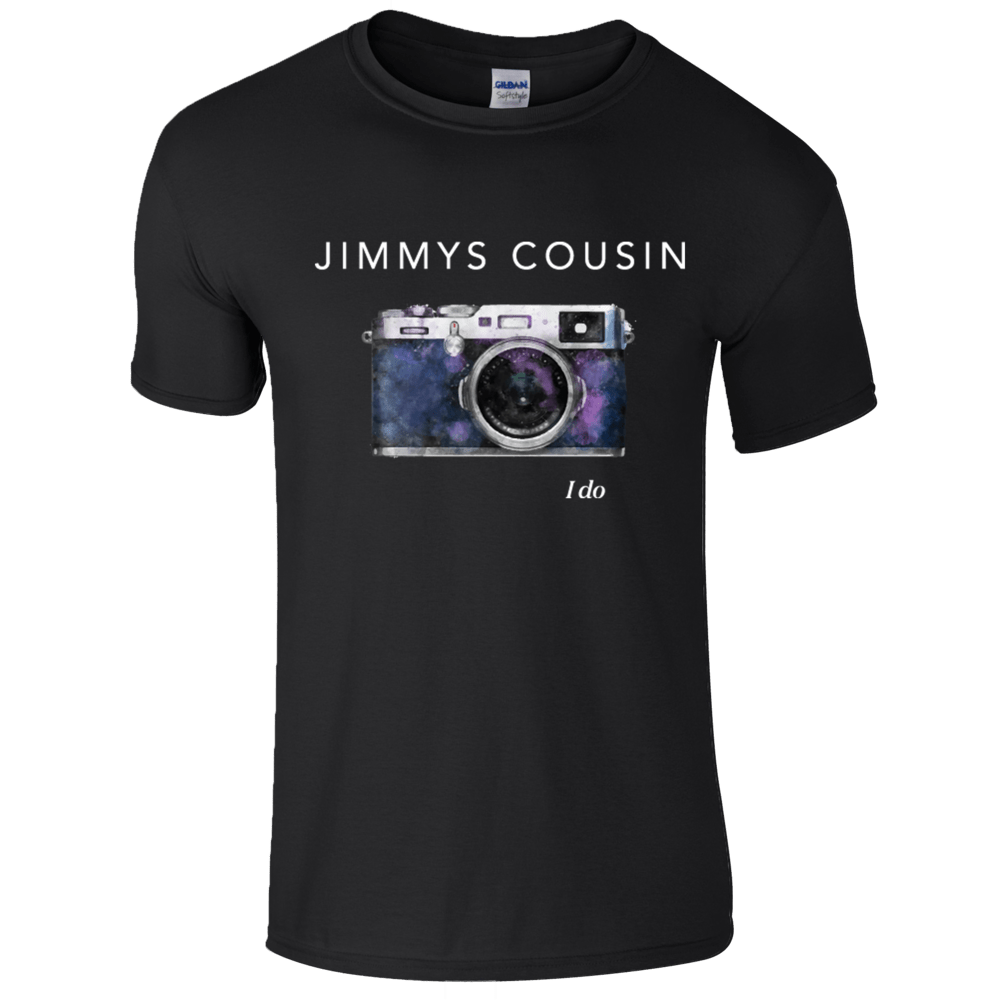 Buy Online Jimmys Cousin - Black I Do T-Shirt