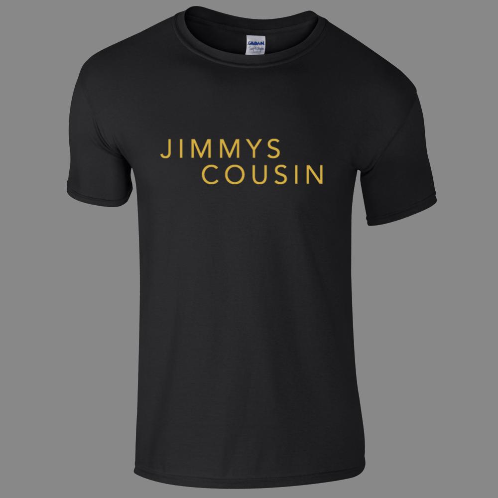 Buy Online Jimmys Cousin - Black Logo Stack