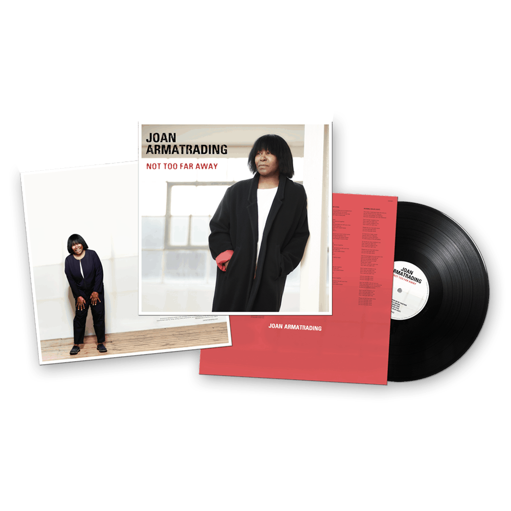 Buy Online Joan Armatrading - Not Too Far Away + Signed Chord Sheets