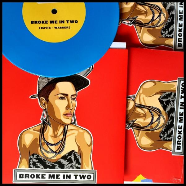 Buy Online Joan As Police Woman & Benjamin Lazar Davis - Broke Me In Two/Overloaded (Signed)