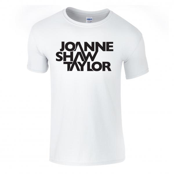 Buy Online Joanne Shaw Taylor - White Logo T-Shirt