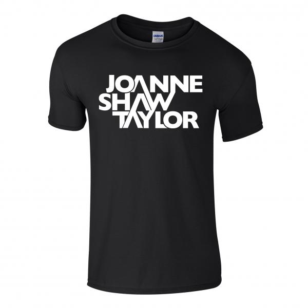 Buy Online Joanne Shaw Taylor - Black Logo T-Shirt