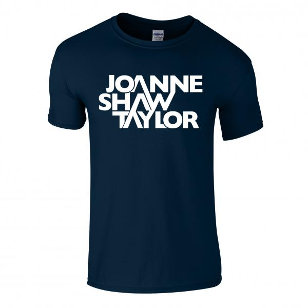 Buy Online Joanne Shaw Taylor - Navy Logo T-Shirt