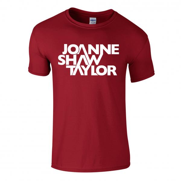 Buy Online Joanne Shaw Taylor - Red Logo T-Shirt