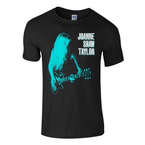 Buy Online Joanne Shaw Taylor - Green-Blue Guitar T-Shirt