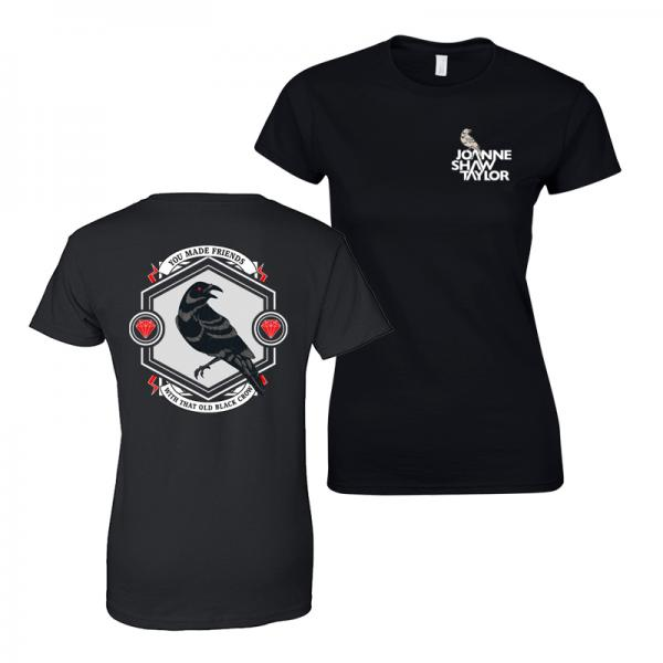 Buy Online Joanne Shaw Taylor - Ladies Crow T-Shirt