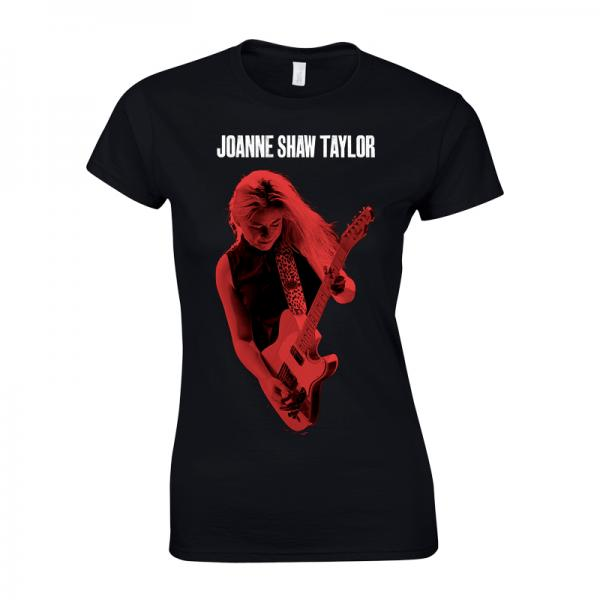 Buy Online Joanne Shaw Taylor - Ladies Red Photo T-Shirt
