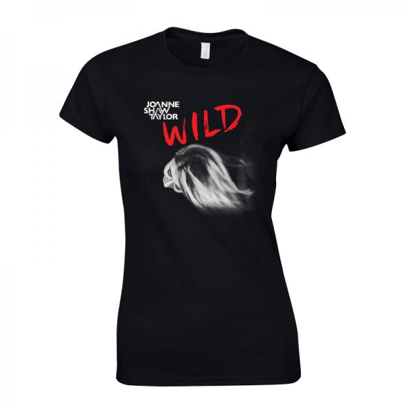 Buy Online Joanne Shaw Taylor - Ladies Wild Cover T-Shirt