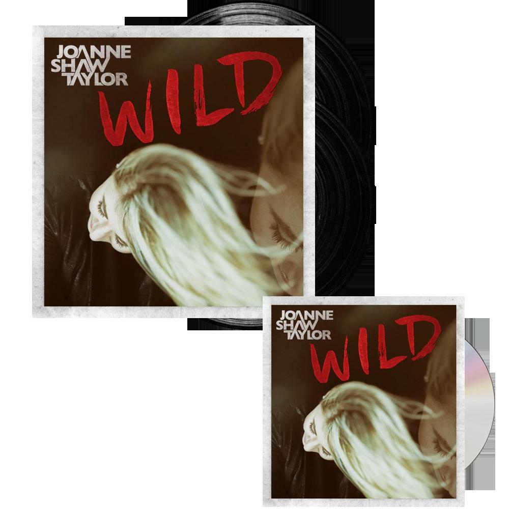 Buy Online Joanne Shaw Taylor - Wild Deluxe Vinyl - Wild CD